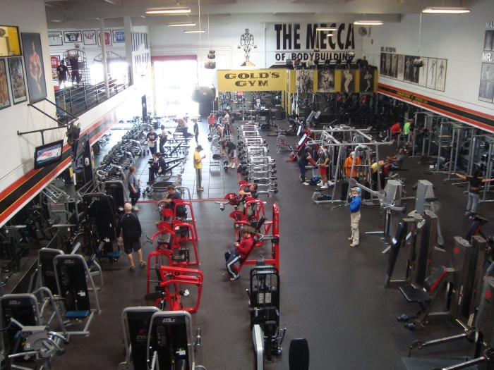 Gold's Gym, Venice, Ca.