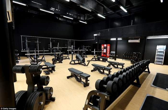 Great gyms from around the world jamie strong