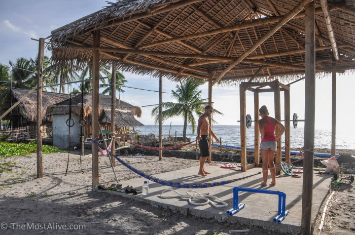 Beach Side Hut Gym, Dumaguete, Phillippines