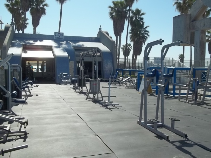 Muscle Beach, Venice, Ca.